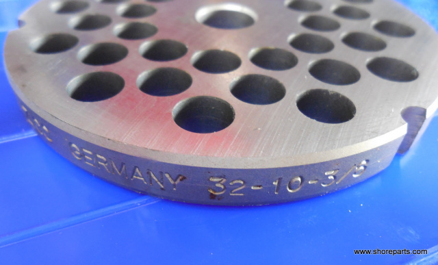 "German Made 3/8"" Hole #32 Grinder Plate for Biro 342, 346, 548 Grinders"