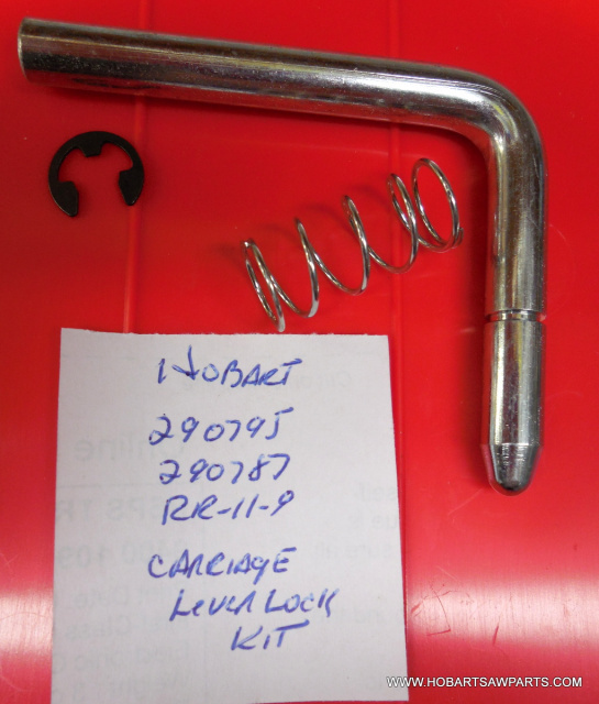 HOBART SAW CARRIAGE LOCK LEVER KIT FOR MODELS 5700-5701-5801-6614-6801