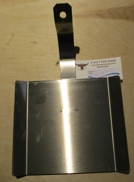 Stainless Steel Meat Deflector for Butcher Boy #52 Grinder. Replaces 59208