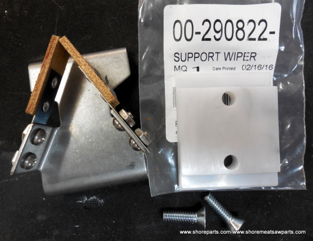 Hobart Saw Part 00-290822 Wiper Support & Blade Wiper Assembly 00-290798 for Models 5700-5701-5801-6