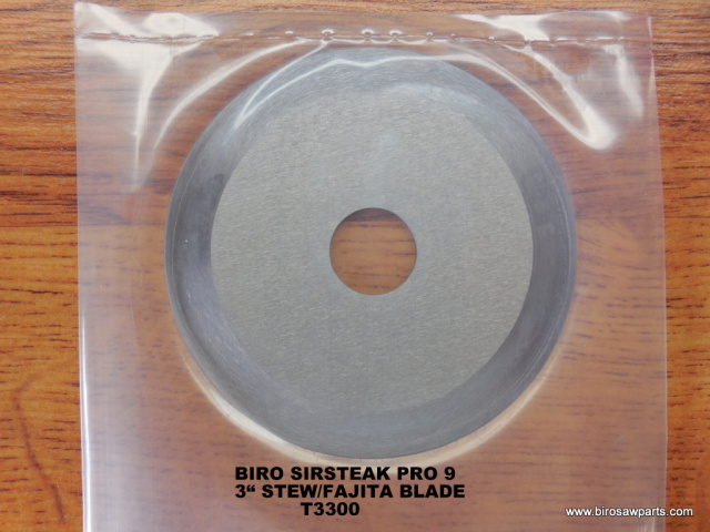 "3"" Stew / Fajita Blades for Biro Pro 9. Replaces T3300 Sold Individually or Lots of 5 or 10"